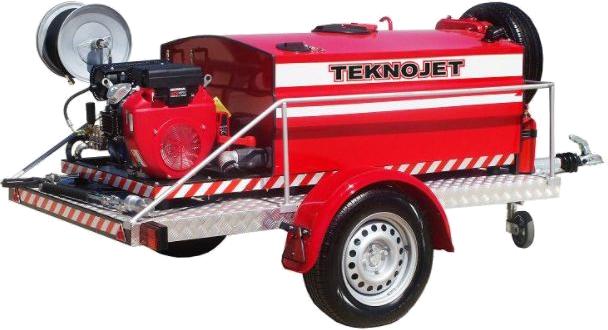 Mobil Köpüklü Yangın Söndürme Makinası